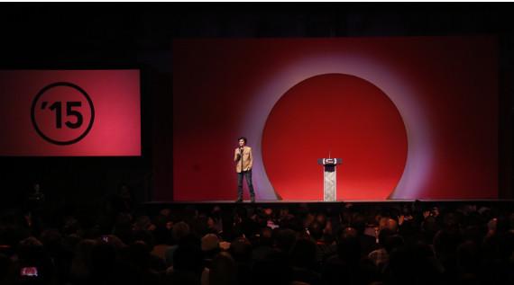 Comedian Tig Notaro hosting the 2015 Sundance Film Festival Award Ceremony